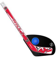 New Jersey Devils Hat Trick Mini Hockey Set