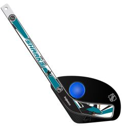 San Jose Sharks Hat Trick Mini Hockey Set