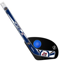 Winnipeg Jets Hat Trick Mini Hockey Set