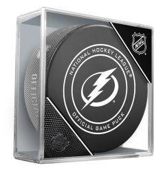 Tampa Bay Lightning Official NHL Game Puck