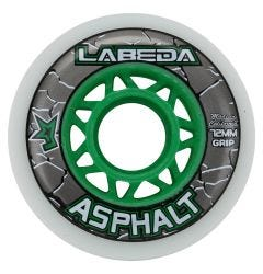 Labeda Asphalt Grip 83A Roller Hockey Wheel - White