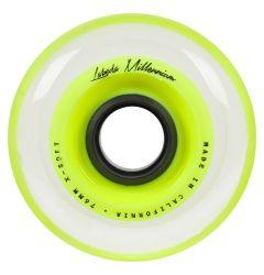 Labeda Millennium 74A X-Soft Roller Hockey Wheel - Yellow
