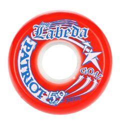 Labeda Patriot 82A Roller Hockey Goalie Wheel - Red 59mm