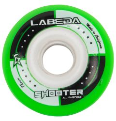 Labeda Shooter 78A Roller Hockey Wheel - Green