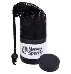 Monkey Sports Official Ice Hockey Puck - 6 Pack