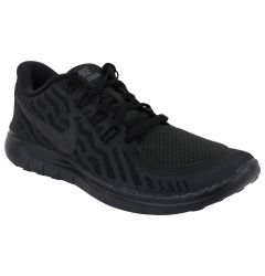 Nike Free 5.0 Women's Training Shoes - Black/Anthracite/Black