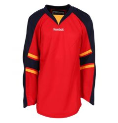 Florida Panthers Reebok Edge Uncrested Junior Hockey Jersey