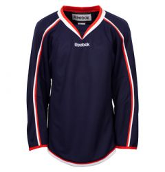 Columbus Blue Jackets Reebok Edge Uncrested Adult Hockey Jersey