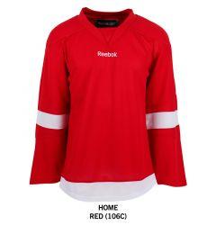 Detroit Red Wings Reebok Edge Uncrested Adult Hockey Jersey