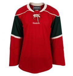 Minnesota Wild Reebok Edge Uncrested Junior Hockey Jersey