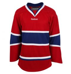 Montreal Canadiens Reebok Edge Uncrested Adult Hockey Jersey