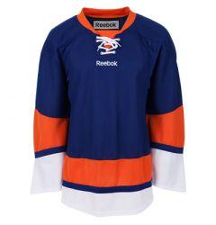 New York Islanders Reebok Edge Uncrested Junior Hockey Jersey