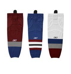 Colorado Avalanche Reebok Edge SX100 Mesh Hockey Socks