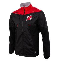 New Jersey Devils Reebok Center Ice Senior Warm Up Jacket