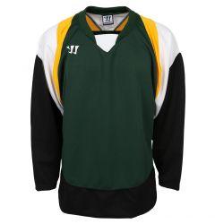 Warrior Lightning KH300 Senior Hockey Jersey - Dark Green/Gold/Black