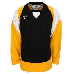 Warrior Lightning KH300 Youth Hockey Jersey - Black/Gold/White