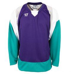 Warrior Lightning KH300 Youth Hockey Jersey - Purple/Teal/White