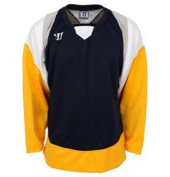 Warrior Lightning KH300 Senior Hockey Jersey - Navy/Gold/Gray