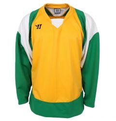 Warrior Lightning KH300 Senior Hockey Jersey - Yellow/Green/White