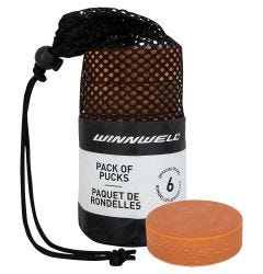 Winnwell Weighted Training Puck - 6 Pack