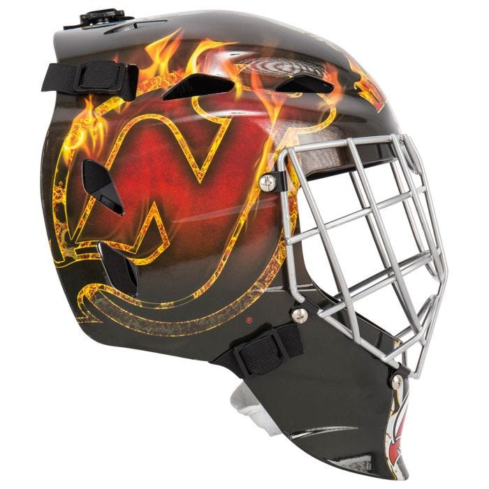 Franklin Gfm 1500 New Jersey Devils Face Mask
