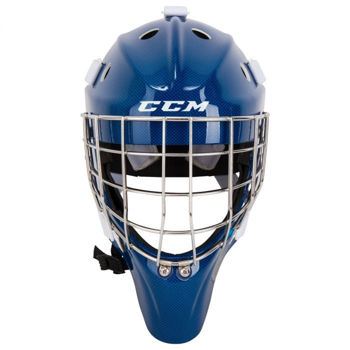 Ccm Carbon 1 9 Senior Certified Straight Bar Goalie Mask