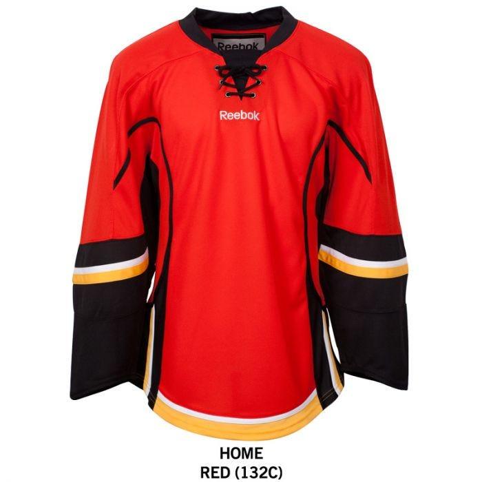 Calgary Flames Reebok Edge Uncrested Adult Hockey Jersey
