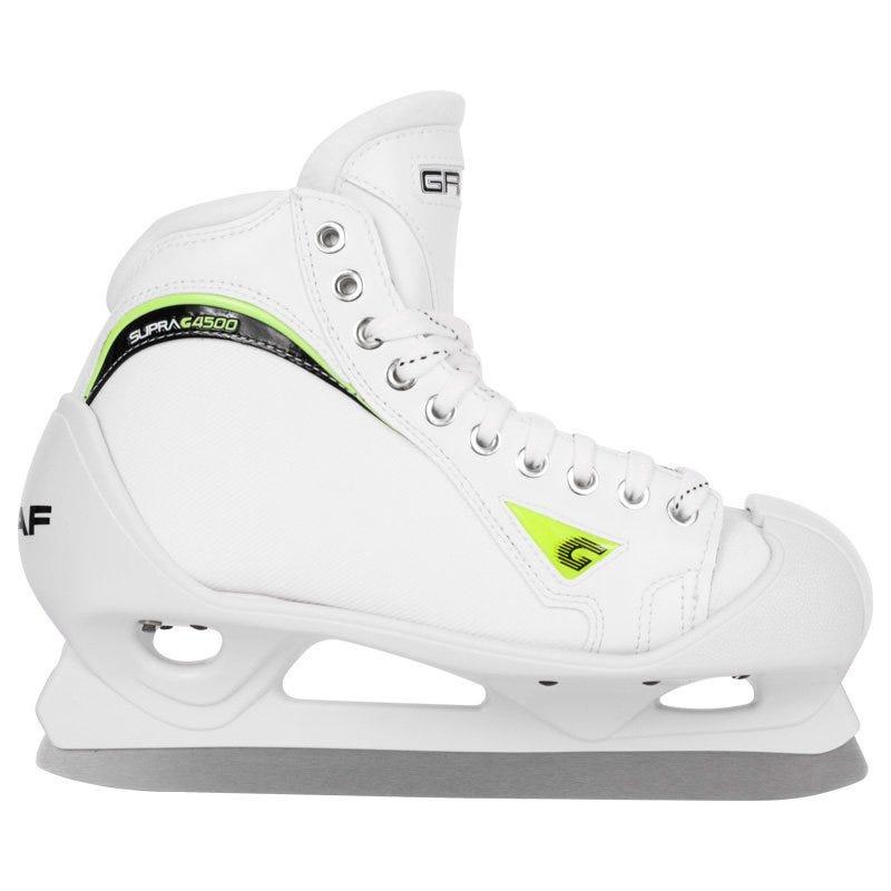 Graf Supra G4500 White Sr. Goal Skates