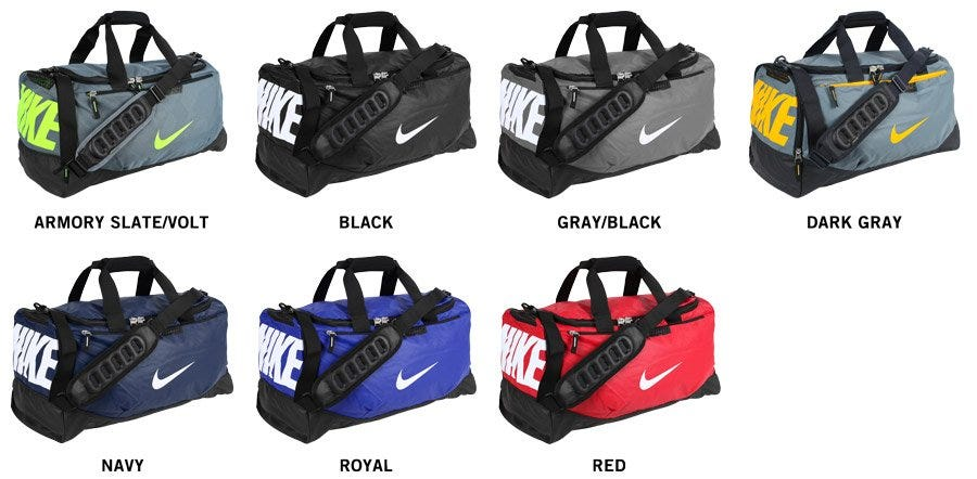 0ec3c58e7e32 Nike Team Training Max Air Medium Duffle Bag