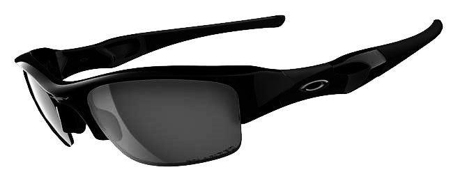 Oakley Sunglasses - Flak Jacket Jet blackBlack Iridium Polarized Sunglasses
