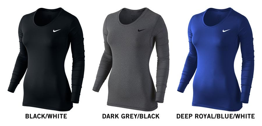 51628835a0 Nike Pro Cool Women s Long Sleeve Shirt