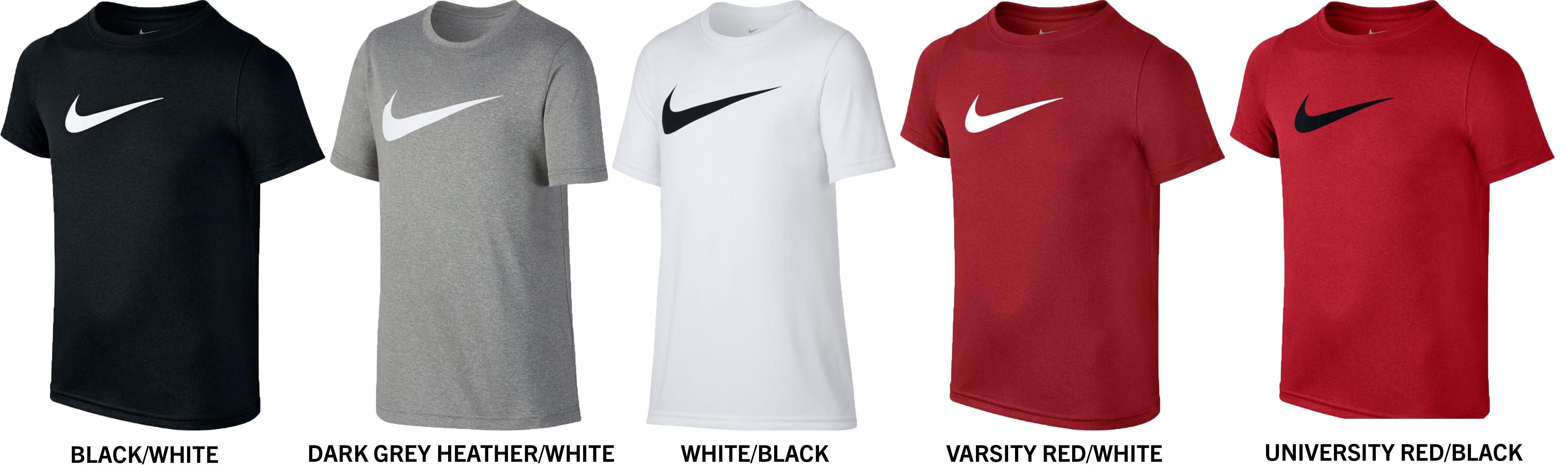 d55db2ae1c Nike Dri-FIT Boy s Short Sleeve Training Tee Shirt
