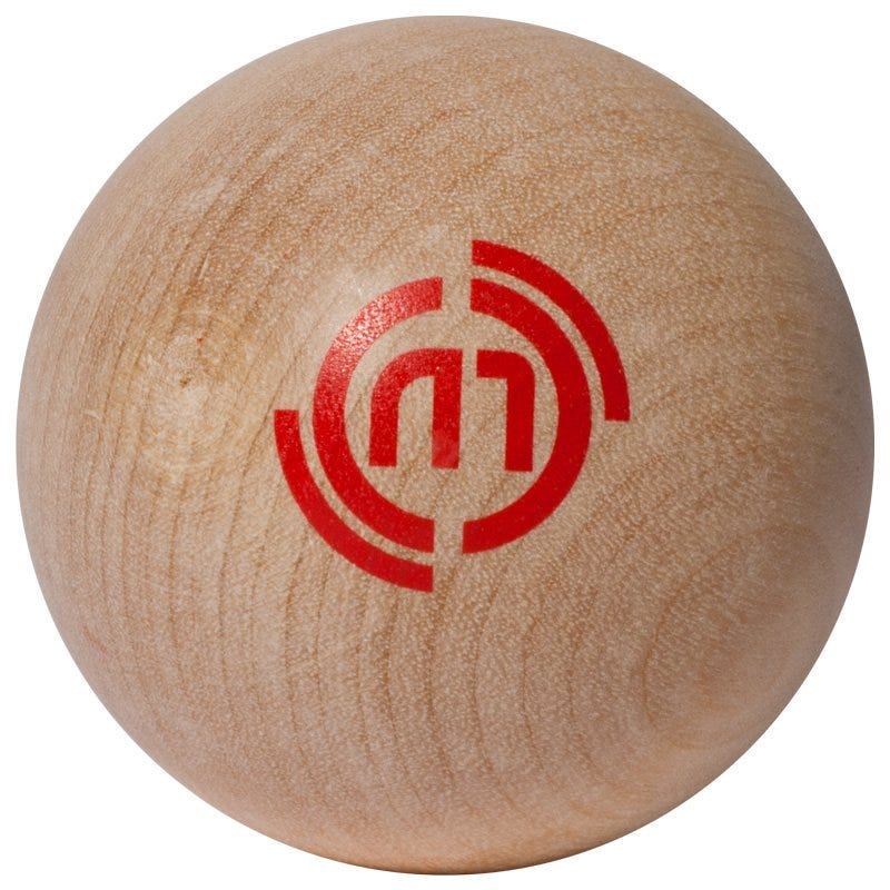 Pro Guard HockeyMonkey Elite Wooden Stick Handling Ball