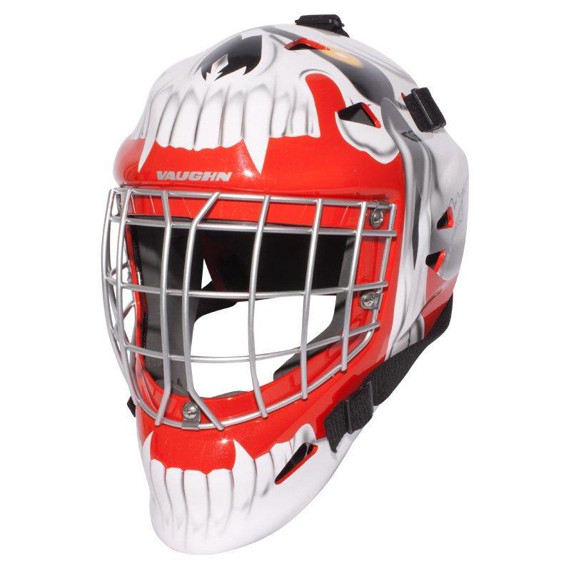 Vaughn VM7400 Jr. Goalie Mask - Skull