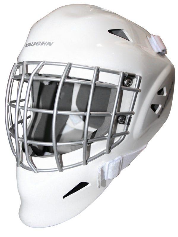 Vaughn 7400 Certified Straight Bar Jr. Goalie Mask