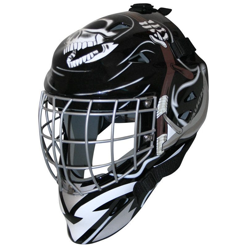 Vaughn VM7400 Sr. Goalie Mask - Reaper