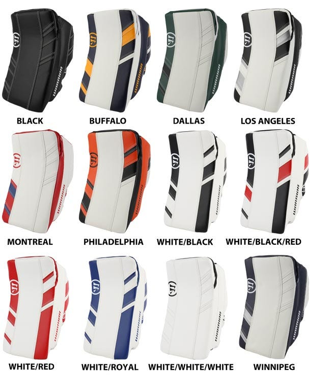 Warrior Ritual G3 Int. Goalie Blocker