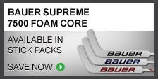 Bauer Supreme 7500 Sr. Foam Core Sticks