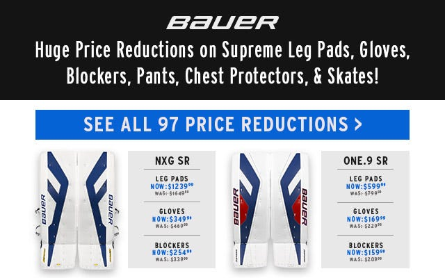 Bauer Price Reductions