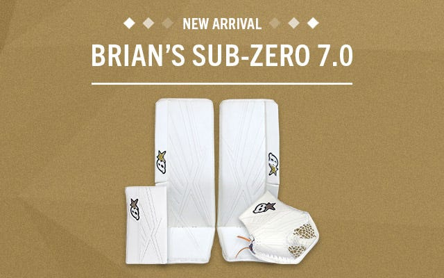 Brian's Sub Zero 7.0 Hockey Goalie Equipment