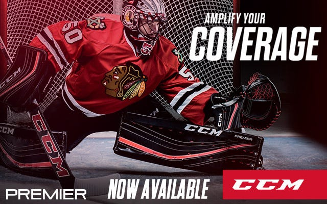 CCM Premier Hockey Goalie Equipment