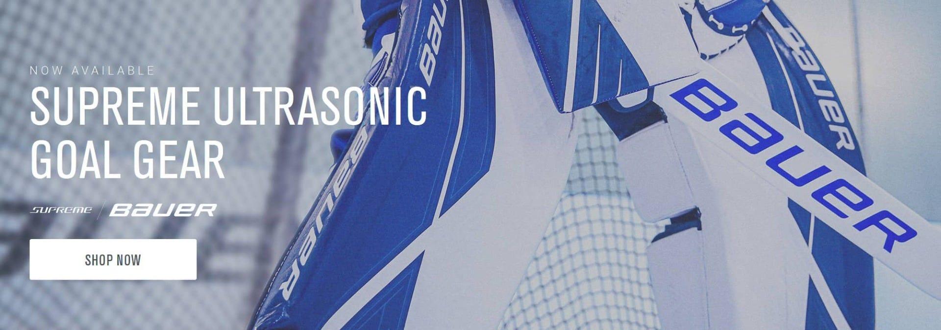 Bauer Supreme Ultrasonic Goalie Equipment