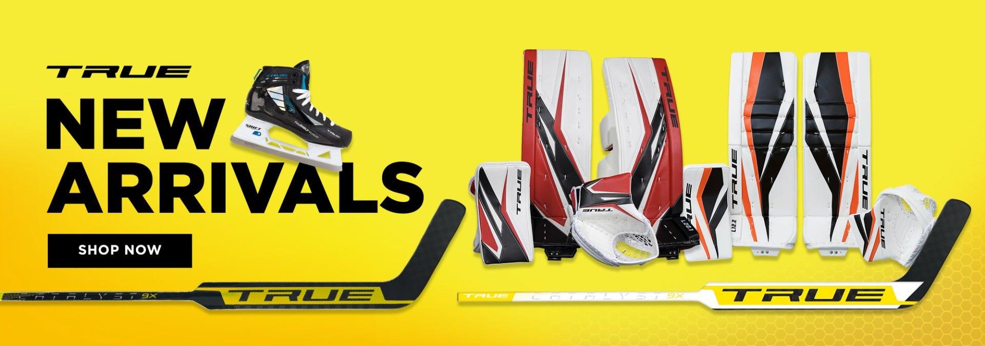 True New Hockey Goalie Equipment