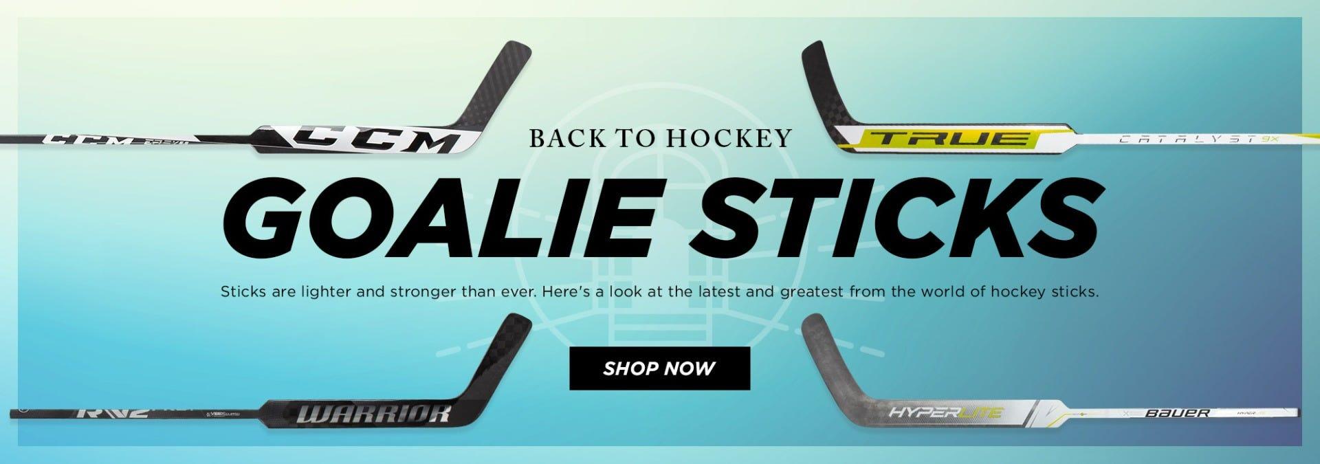 Back to Hockey: Sticks