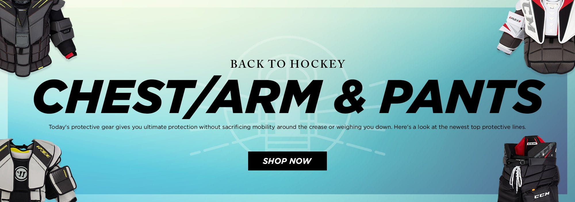 Back to Hockey: Chest & Arm Protectors and Pants