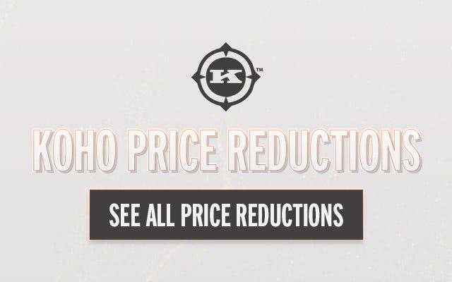 Koho Price Reductions
