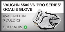 Vaughn 5500 V6 Pro Series Goalie Glove