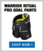 Warrior Ritual Pro Goalie Pads