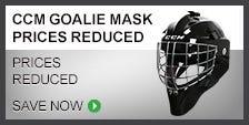 CCM Goalie Masks on Sale