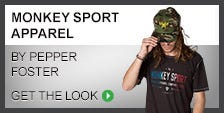 Monkey Sport Apparel by Pepper Foster